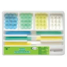Набор с дисками с пластиковой втулкой № НК1.020 (полоски 75 шт, диски 48 шт, дискодержатели 2 шт)